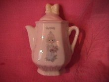Enesco Precious Moments Spice Jar-Coffee Pot (Parsley)