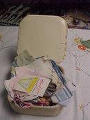 Vintage Handkerchiefs/ Box