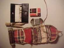 vintage lot of 5  sewing items