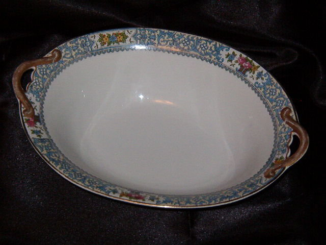 Noritake China Ellrose Oval Vegetable Bowl