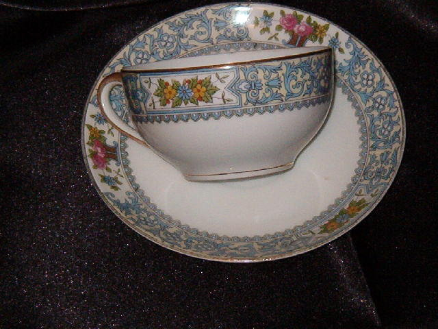 Noritake China Ellrose Cup & Saucer