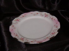 Lefton Heirloom Rose Luncheon Plate