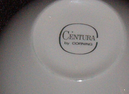 Corning Centura White Coupe Cup