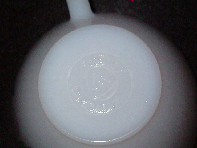 Federal Glass Co Clover Blossom Cup