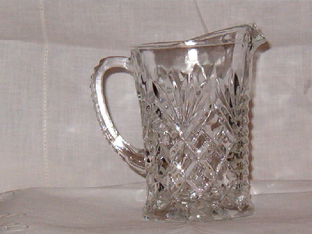 Anchor Hocking Prescut Pineapple Pitcher