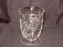 Federal Glass Windsor Tumbler Footed