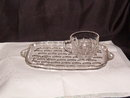 Federal Glass Yorktown Snack Plate & Cup