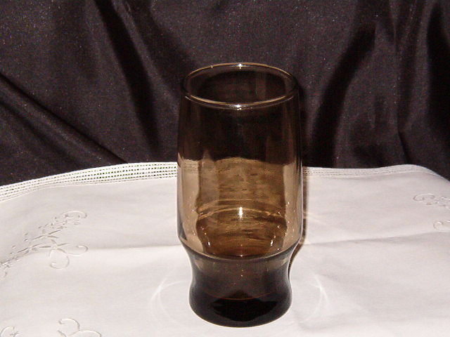 Libbey Rock Sharpe Tawny Accent Tumbler