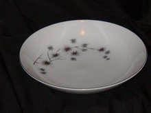 Creative Platinum Star Burst Soup Bowl