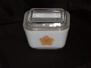Pyrex Butterfly Gold Refrigerator Dish