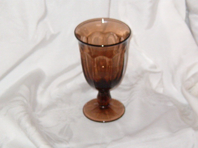 Noritake Crystal Provincial Brown Iced Tea