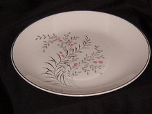 Vintage Retro Luncheon Plate