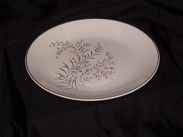Vintage Retro Luncheon Plate