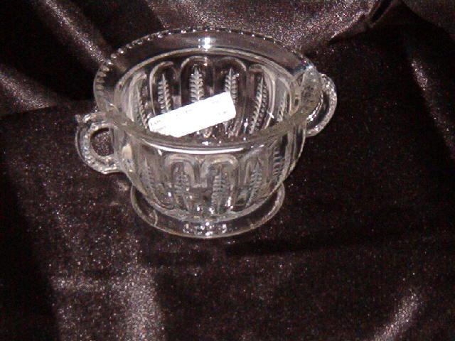 EAPG Zipper Sugar Bowl