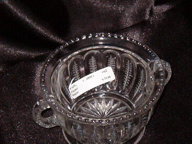 EAPG Zipper Sugar Bowl