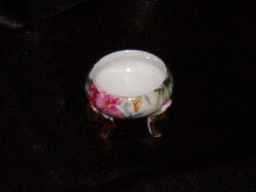 E W Princess China Footed Trinket Dish
