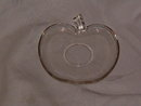 Hazel Atlas Apple Orchard Ware Clear Saucer
