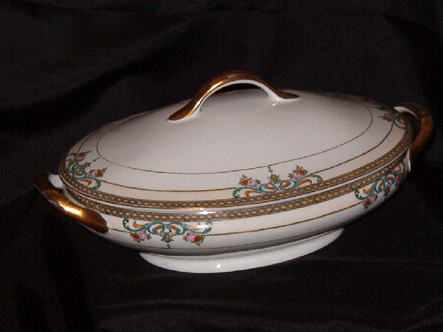 Meito Oval Covered Vegetable