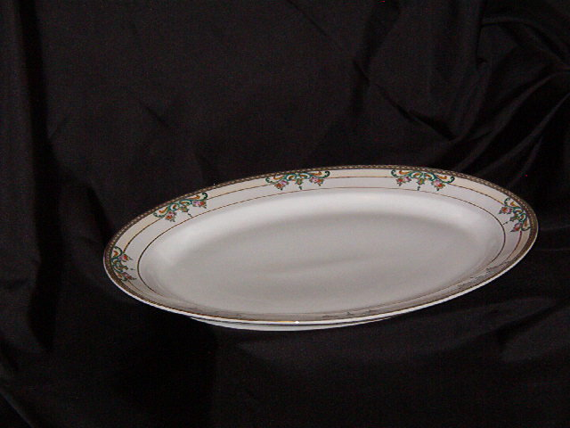Meito China Oval Platter