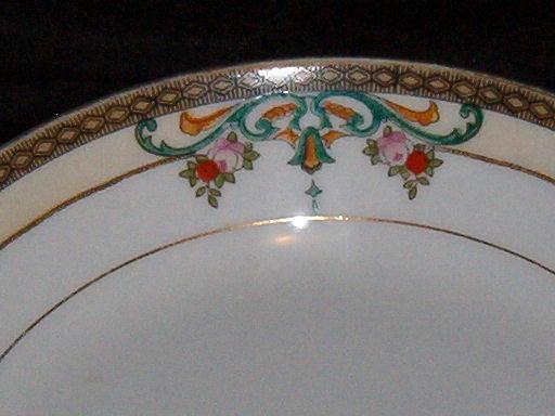 Meito China Soup Bowl