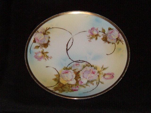 Beyer & Bock Royal Rudolstadt Prussia Plate