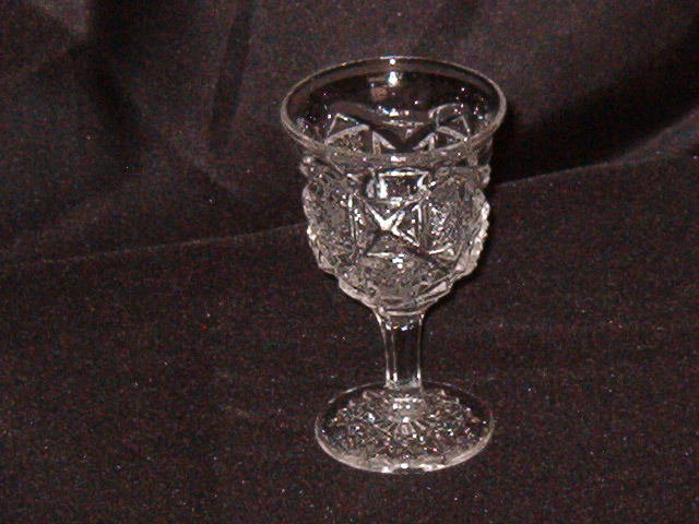 Westmoerland Old Quilt Wine Glass