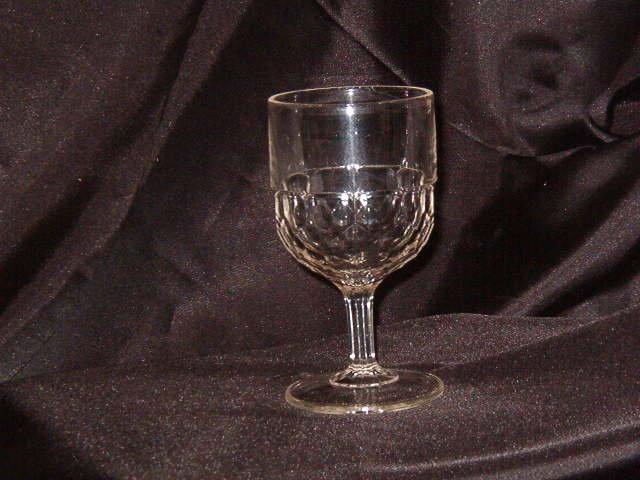 EAPG Honeycomb Goblet