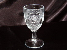 Kokomo Glass Dew & Raindrop Wine Goblet