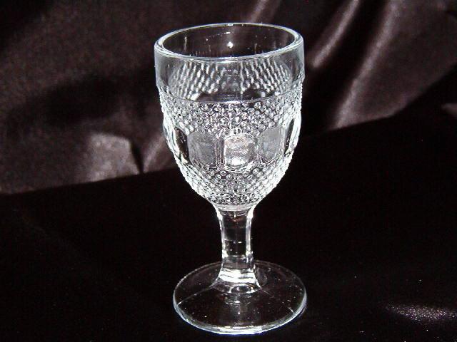 Kokomo Glass Dew & Raindrop Wine Goblet