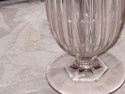 Central Glass Loop O'Hara Celery Vase