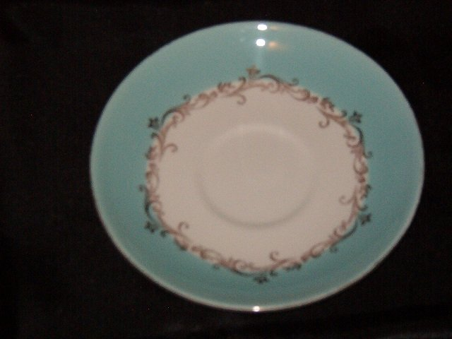 Lifetime China Gold Crown Saucer