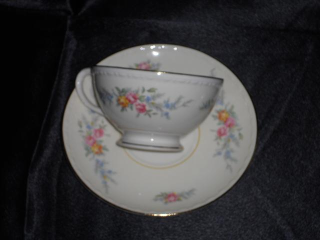 Homer Laughlin Cashmere Cup & Saucer