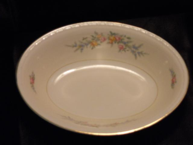 Homer Laughlin Cashmere Oval Bowl