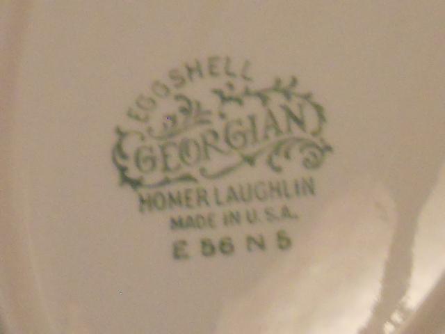 Homer Laughlin Cashmere Oval Bowl
