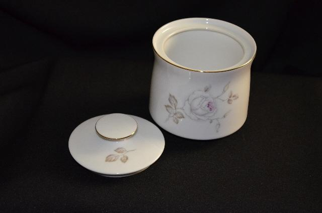 Johann Haviland Sweetheart Rose Sugar Bowl w/Lid