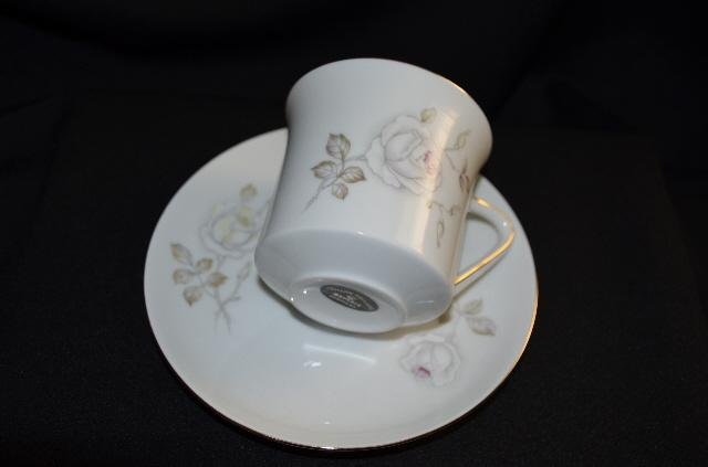 Johann Haviland Sweetheart Rose Cup & Saucer