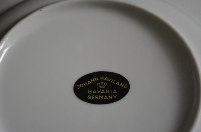 Johann Haviland Sweetheart Rose Soup Bowl