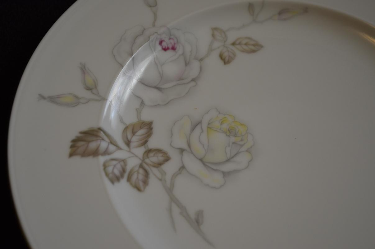 Johann Haviland Sweetheart Rose Salad Plate