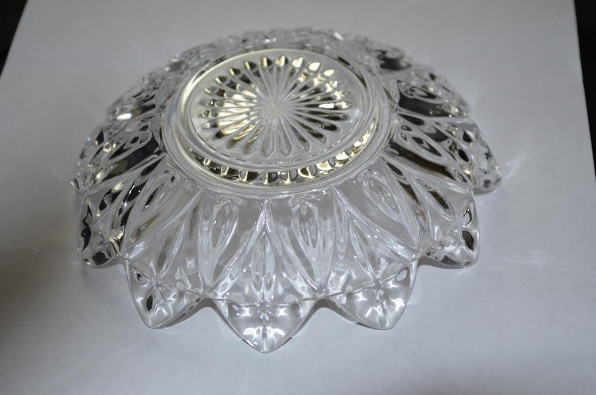 Federal Glass Petal Bowl