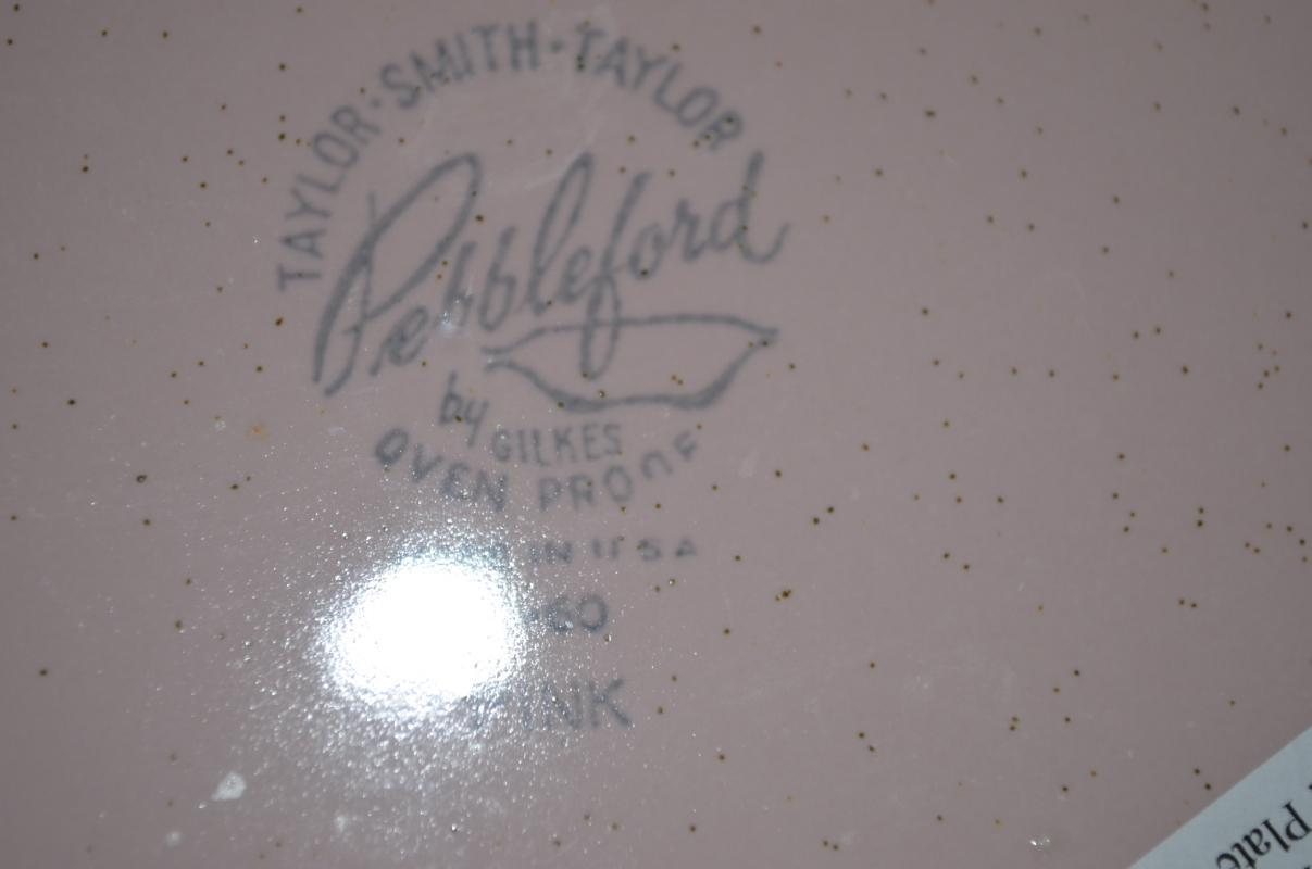 Taylor Smith Taylor Pebbleford Pink Dinner Plate