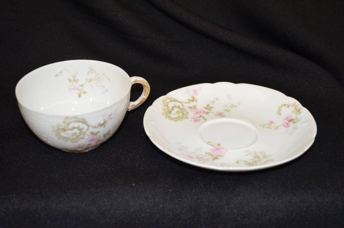 Theodore Haviland Limoges Cup & Saucer