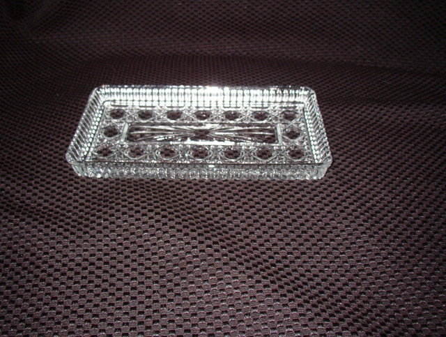 Federal Glass Windsor Rectangular Tray