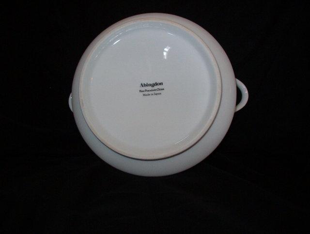 Japan China Abingdon Round Covered Vegetable