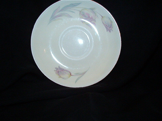 Homer Laughlin Tulip Eggshell Nautilus Saucer
