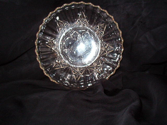 Federal Glass Pioneer Clear Round Bowl