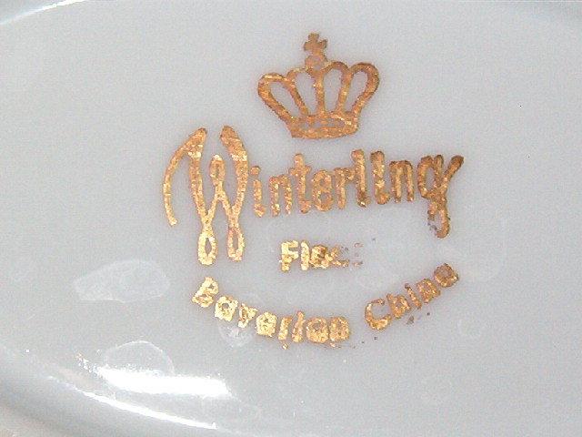 Winterling Bavaria Wig163 Oval Platter