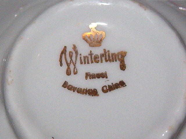 Winterling Bavaria Wig163 Cup & Saucer