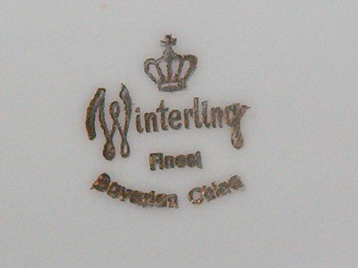 Winterling Bavaria Wig163  Sugar w/Lid