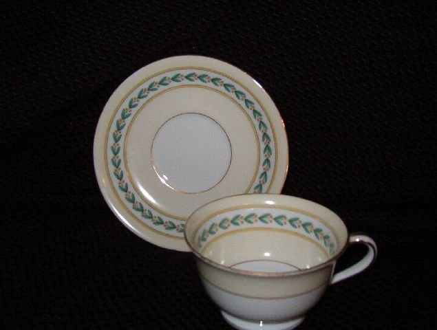 Noritake China Malibu Cup & Saucer (Footed)
