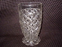 Anchor Hocking Waterford Footed Tumbler